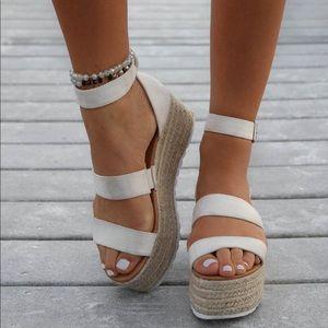 Restock Natural Espadrille sandal